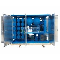 China 18000LPH Vacuum Insulation Oil Regeneration Purifier with Silica Gel Material on sale