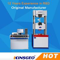 Quality 750mm Computer Servo Hydraulic Universal Testing Machine For Metallurgy with One Year Warranty wholesale