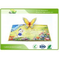 Quality Customized Eco Friendly Children Snappy Pop Up Books With Letterpress Printing wholesale