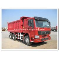 Quality 336 HP heavy duty dump truck sand tipper truck middle lifting type 15 m3 tank body wholesale