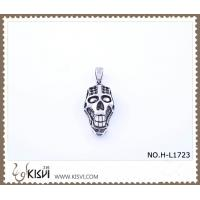 Quality Hot sell 316 Stainless Steel Death's-Head Pendant H-L1723 wholesale