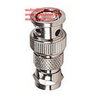Buy cheap BNC Male to F Male Coaxial Adapter BNC plug to F plug Coaxial Adaptor CCTV Connector from wholesalers