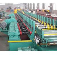 Quality 2019 new design automatic gear box driving 18kw Galvanized steel metal shutter door frame roll forming machine for sale wholesale
