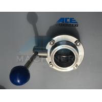 Quality Stainless Steel Sanitary Butterfly Valve with Weld/Nut End (ACE-DF-2D) wholesale