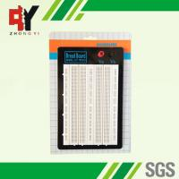 Quality White ABS Metal Reed Test Breadboard Electronics 1580 Tie - Point Universal Printed Circuit Board wholesale
