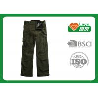 Quality Military Style Thermal Fleece Hunting Pants Windproof With ISO9001 wholesale