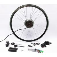 Quality 7 Speed Rear Wheel Electric Bike Hub Motor Conversion Kit With Batteries wholesale