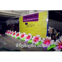 Buy cheap 10m Inflatable Wedding Flower String with 10 Flowers for Wedding Stage product