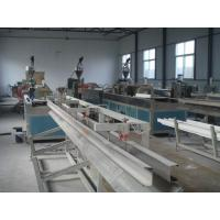 China Automatic Wood Plastic Composite Extrusion Line , Two Screw WPC Extruder on sale
