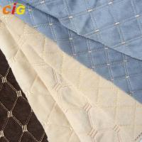 Buy cheap Embroidery Waterproof Auto Upholstery Fabric Anti Static For Car Seat from wholesalers