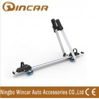 Quality Frame / Wheel bicycle jeep auto Adjustable Aluminum Roof Rack Bike Carrier wholesale