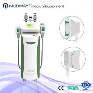 Quality vacuum cryo fat freezing / fat dissolving machine wholesale