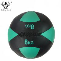 Quality PVC Leather Wall Ball Gym Exercise Ball For Core Muscle Strengthening Moisture Resistant wholesale
