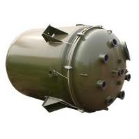 Buy cheap Industrial Glass Lined stainless steel reactor vessel ASME Certificated product