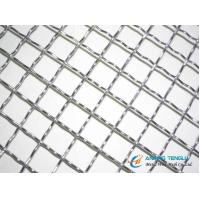 Quality Stainless Steel Crimped Wire Mesh With Hole Size (double weave) wholesale