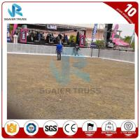 China Road Car Park Barriers For Traffic , Aluminum Alloy Crowd Control Fencing on sale