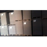 China 1.5mm 2.0mm Anti Curl Pulp Grey Cardboard For Packaging Box on sale