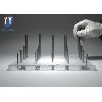 Quality H6 Tungsten Carbide Round Stock , Tungsten Round Bar With ISO9001 Certification wholesale