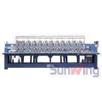 Quality Cording / Tapping Mixed Computerized Embroidery Machines For Bedding wholesale