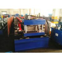 Buy cheap 100-300mm Cable Tray Rollforming Machine, Perforated Cable Tray Production Line from wholesalers
