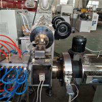 China Two Cavity PC LED Tube Production Line Plastic Extrusion Machine Stable Extruding on sale