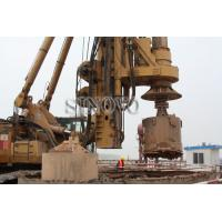 Quality rotary drilling rigs for Max stroke of crowd cylinder 14000mm max drilling depth 95m wholesale