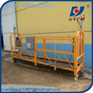 Quality ZLP800 Aluminum Electric Scaffolding  800kg Aluminum Suspended Platform for sale wholesale