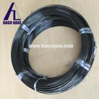 China Superelastic nitinol wire for sale, nickel titanium alloy wire black surface on sale