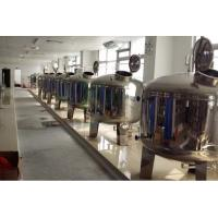 China SS304 / SS316 Stainless Steel Filter Tank , Pre Treatment Tank For Water Treatment on sale