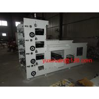 Cheap 5 Color Roll To Roll Digital Label Flexographic Printing Machine HBS-320 for sale