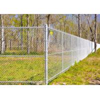 Quality Multi PVC Color Driveway Chain Link Fencing With Steel Iron Wire Materials wholesale