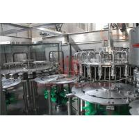 Quality Hot Temperature Juice Filling Capping Labeling Machines With Return System wholesale