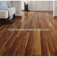 Buy cheap Glossy Walnut Laminate Wood Flooring from wholesalers