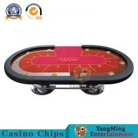 Quality 6 Colors Casino Poker Table Texas Hold