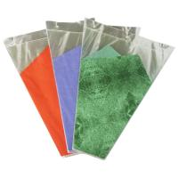Buy cheap Green / Purple / Orange Banquet Flower Wrapping Sleeves , Flowers Wrap Bags product