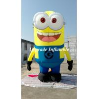 Quality Free Shipping With Air Blower Advertising Figure Despicable Me Advertising Inflatable Minion 4 M wholesale