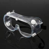 Quality Chemical Resistant Eye Protection Goggles , Reliable Fog Proof Safety Glasses wholesale