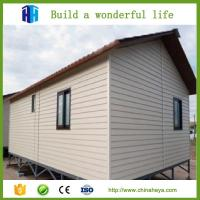 Quality low cost steel frame prefab movable sandwich panel house homes wholesale