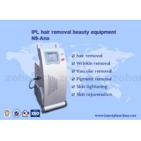 Quality IPL Skin Whitening , Hair Remover Beauty Machine With Two Handles wholesale