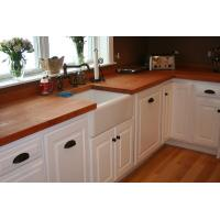 Quality UK style modified acrylic artificial stone solid surface kitchen top wholesale