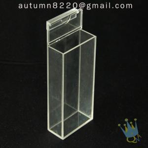 Quality BO (65) acrylic box with hinge lid wholesale