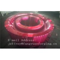 Quality ASTM AISI  DIN 36CrNiMo4 JIS SNCM439 Forged Gear Blank Internal Gear RIng Blanks Alloy Steel wholesale