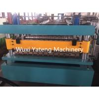 Quality 380V 50HZ 3 Phase Corrugated Roll Forming Machine For Color Steel Plate wholesale