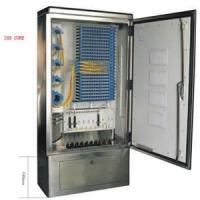 Quality High density 70 - 106KPa Outdoor Cold - rolled steel 288 cores fiber optics cabinet wholesale
