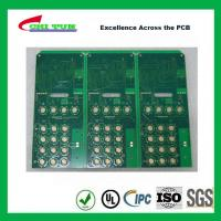 Cheap Custom PCB Boards Multilayer Pcb Fabrication Aeronautics IMMERSION GOLD + HARD for sale