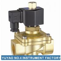 Quality Two Way Brass Air Operated Solenoid Valve , 2 Inch Water Solenoid Valve wholesale