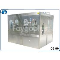 drinking water Rinsing Filling Capping Machine , Bottled Water Production Line