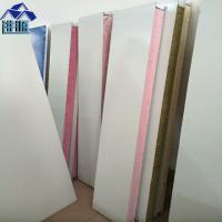 China sound insulation 75mm PU foam sandwich panel walls board for container house on sale