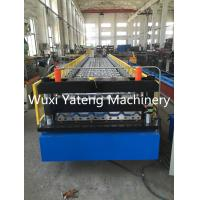 Cheap Mental Roof And Wall Corrugated Roll Forming Machine 0.4 - 0.8mm Thickness for sale