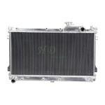 Quality 2 Row 52mm Aluminum Auto Radiators for MAZDA MX5 MIATA 90-97 MANUAL wholesale